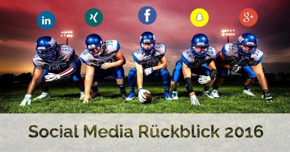 Social Media Rückblick 2016